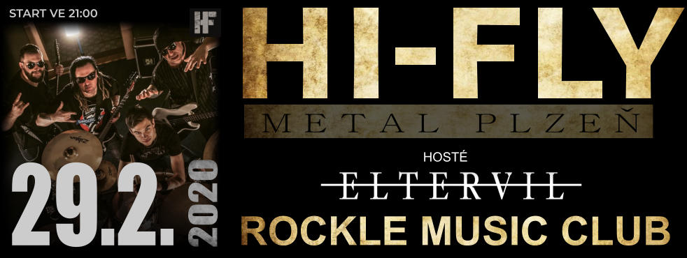 ROCKLE MUSIC CLUB HOSTÉ START VE 21:00 29.2. 2020